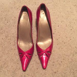 Stuart Weitzman Cherry Red heels size 8